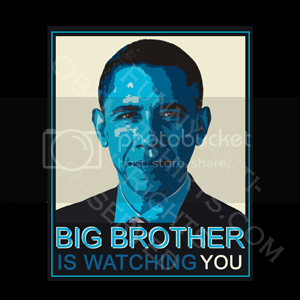 funny anti-obama t-shirt: big brother