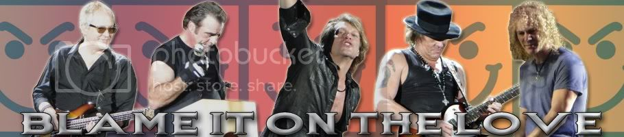 Blame It On The Love (unofficial Bon Jovi blog)