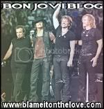Blame It On The Love - Bon Jovi blog